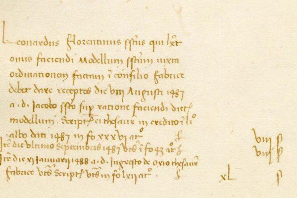 3. Mostra – pagamento a Leonardo