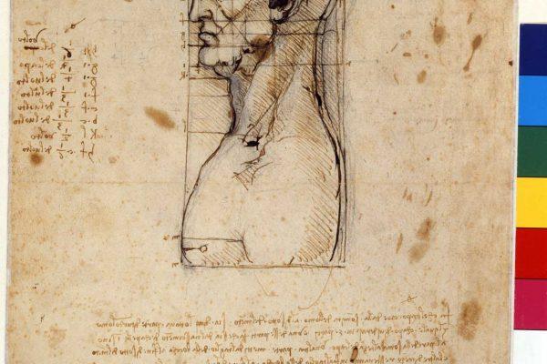 Leonardo-da-Vinci,-Studio-di-proporzioni,-Gallerie-dell'Accademia-inv