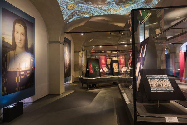 sala storica museo del tessuto