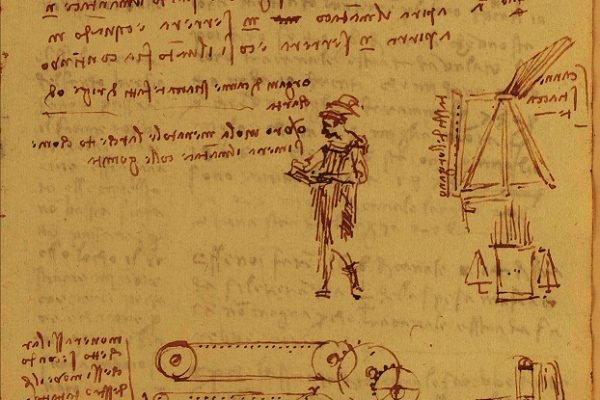 Leonardo organetto codex